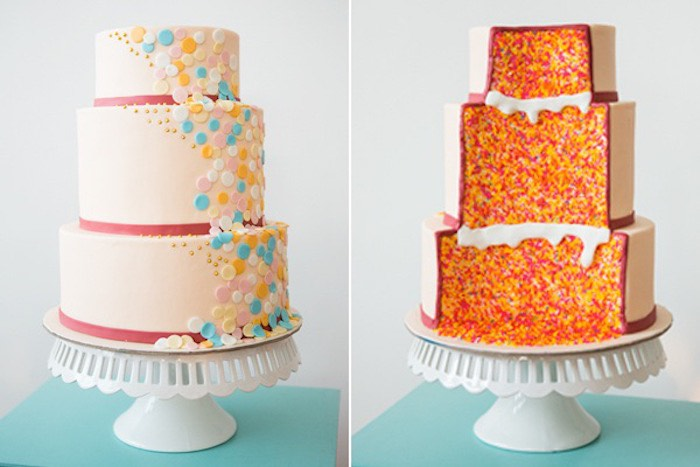 Confetti & Sprinkles Baby Shower Cake