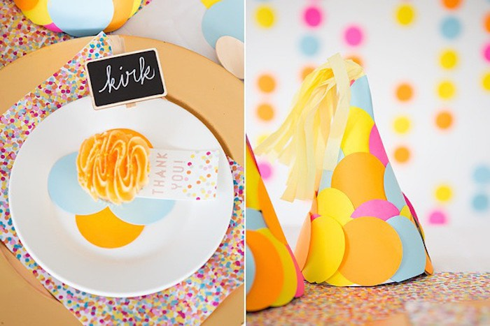 Confetti & Sprinkles Baby Shower Place Setting