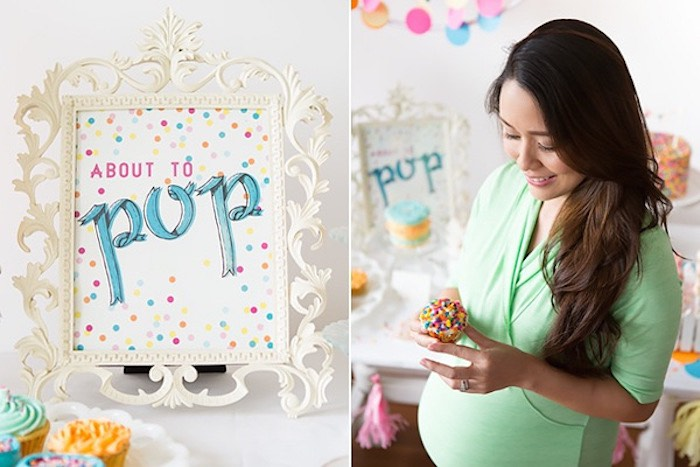 Confetti & Sprinkles Baby Shower Signage