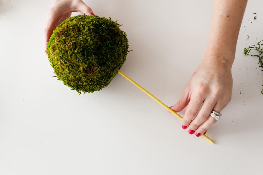 DIY Spring Topiary 5