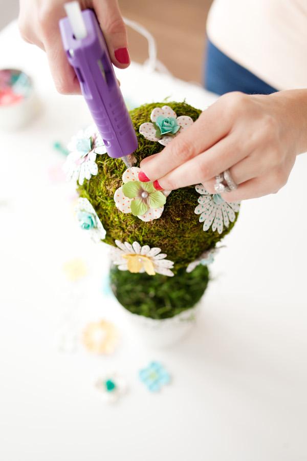 DIY Spring Topiary 8