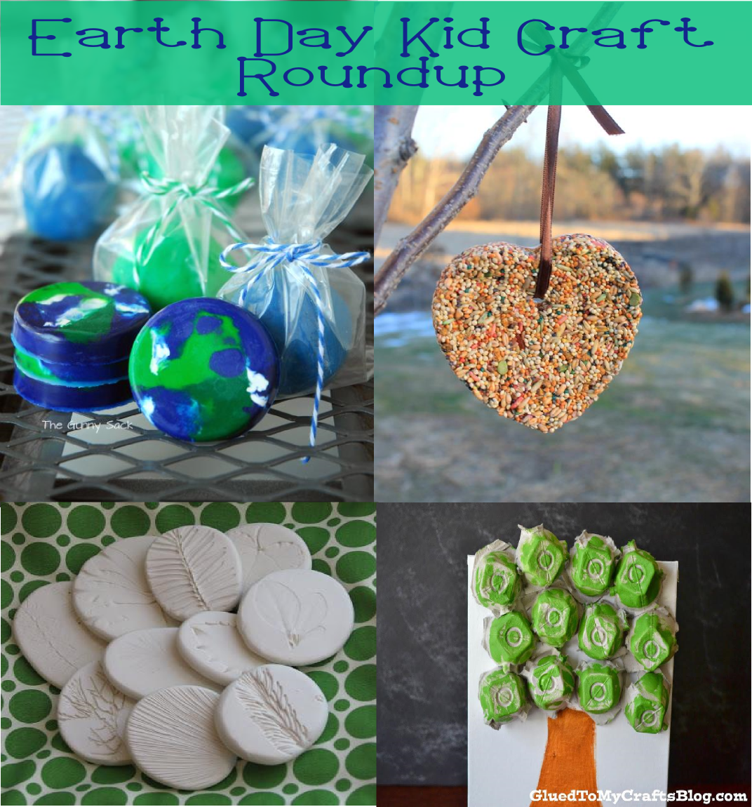 Earth Day Kid Craft Roundup