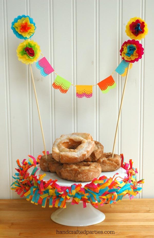 Fiesta Cake Topper