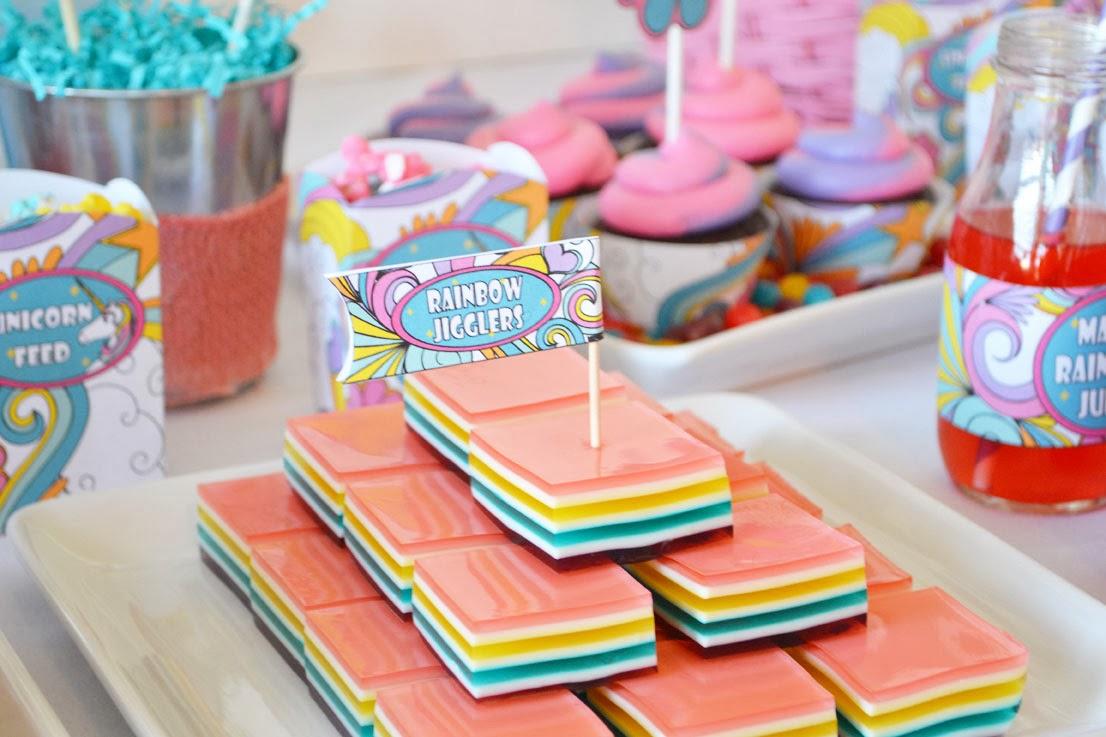 Sweetly Feature: Rainbow Unicorn Party