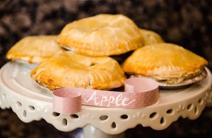 Sweet as Pie Baby Shower Apple Pies