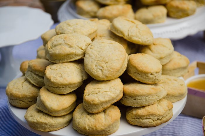 Sweet as Pie Baby Shower Biscuits