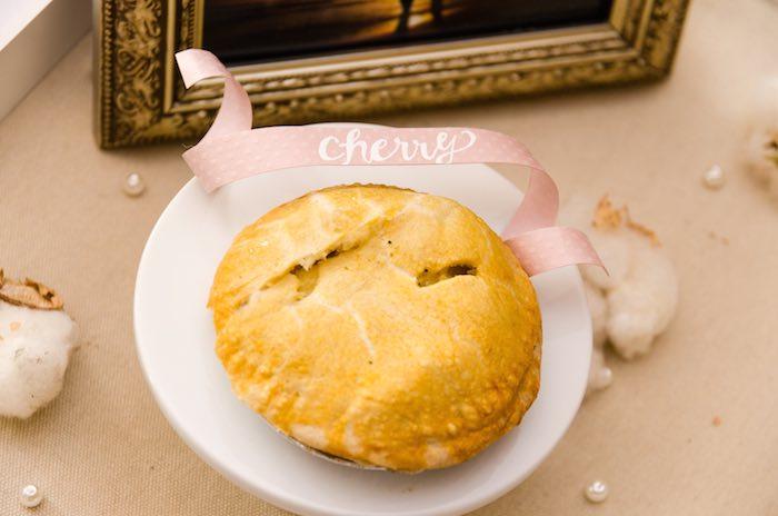Sweet as Pie Baby Shower Cherry Pie