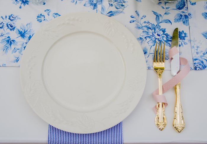 Sweet as Pie Baby Shower Place Setting