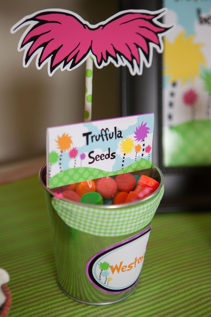 graphic about Truffula Seeds Printable named Lorax Impressed Get together