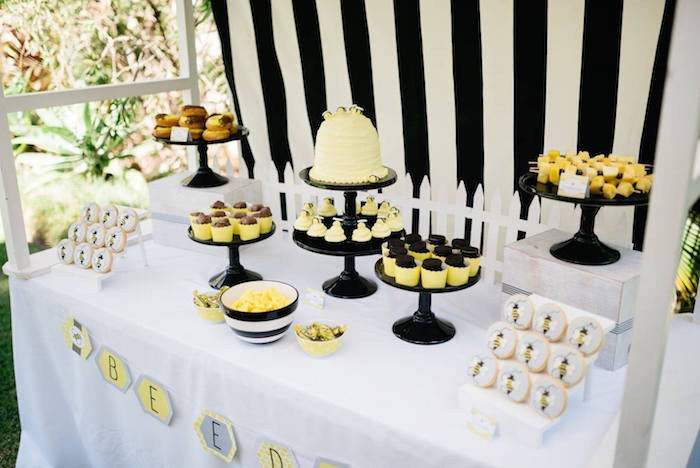 backyard baby shower ideas