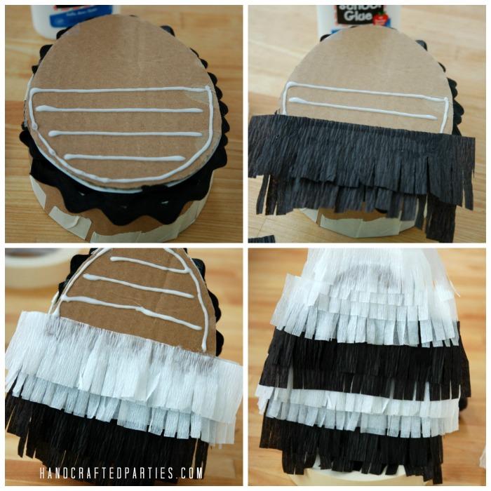 Kate-Spade-pinata_black-white-stripe-fringe-egg_Handcrafted-Parties