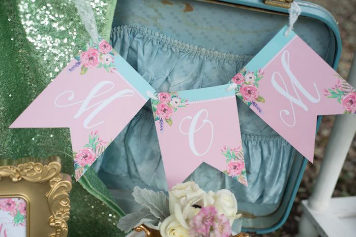 mothers day party banner
