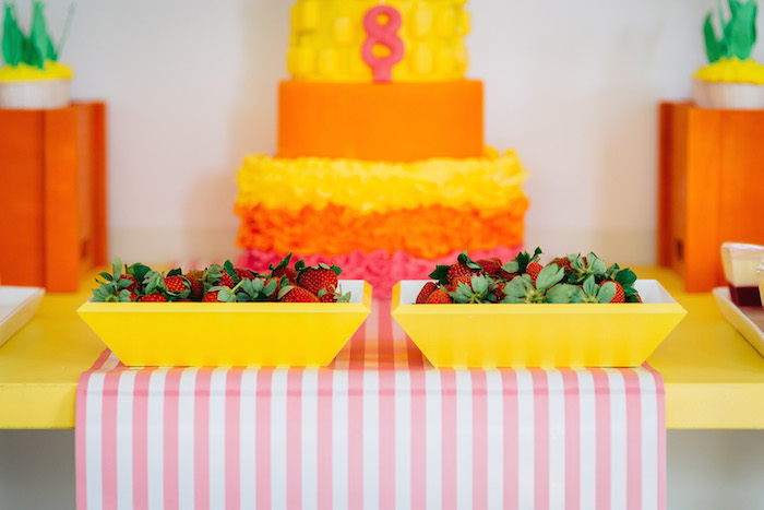 Tutti Frutti Birthday Party Berries