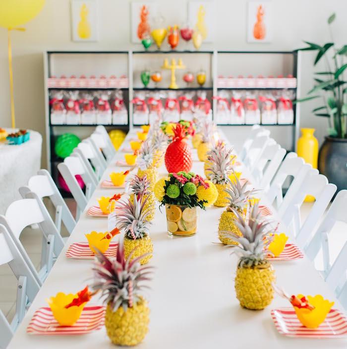 Tutti Frutti Birthday Party Dining table 2