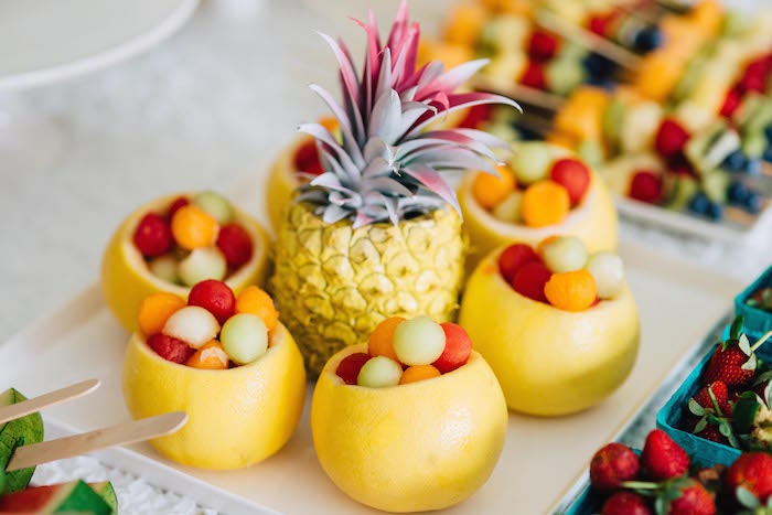 fruit bowls is pineapple a citrus fruit