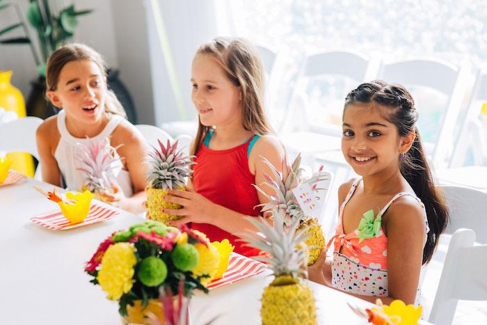 Tutti Frutti Birthday Party Guests