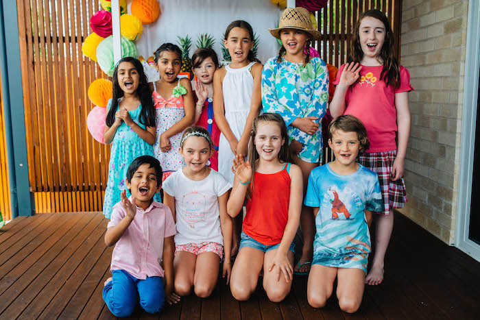 Tutti Frutti Birthday Party Kids