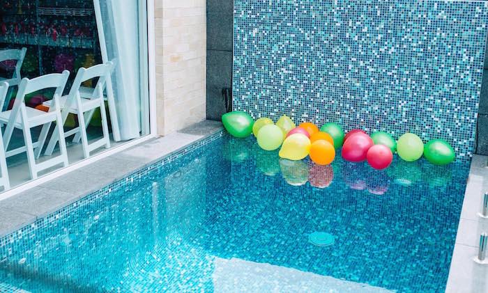 Tutti Frutti Birthday Party Pool