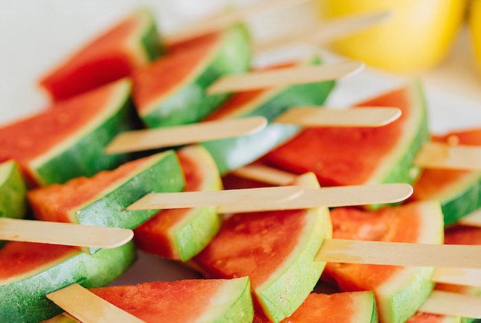 Tutti Frutti Birthday Party Watermelon