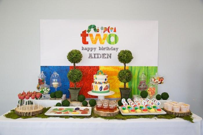 Very Hungry Caterpillar Birthday Party