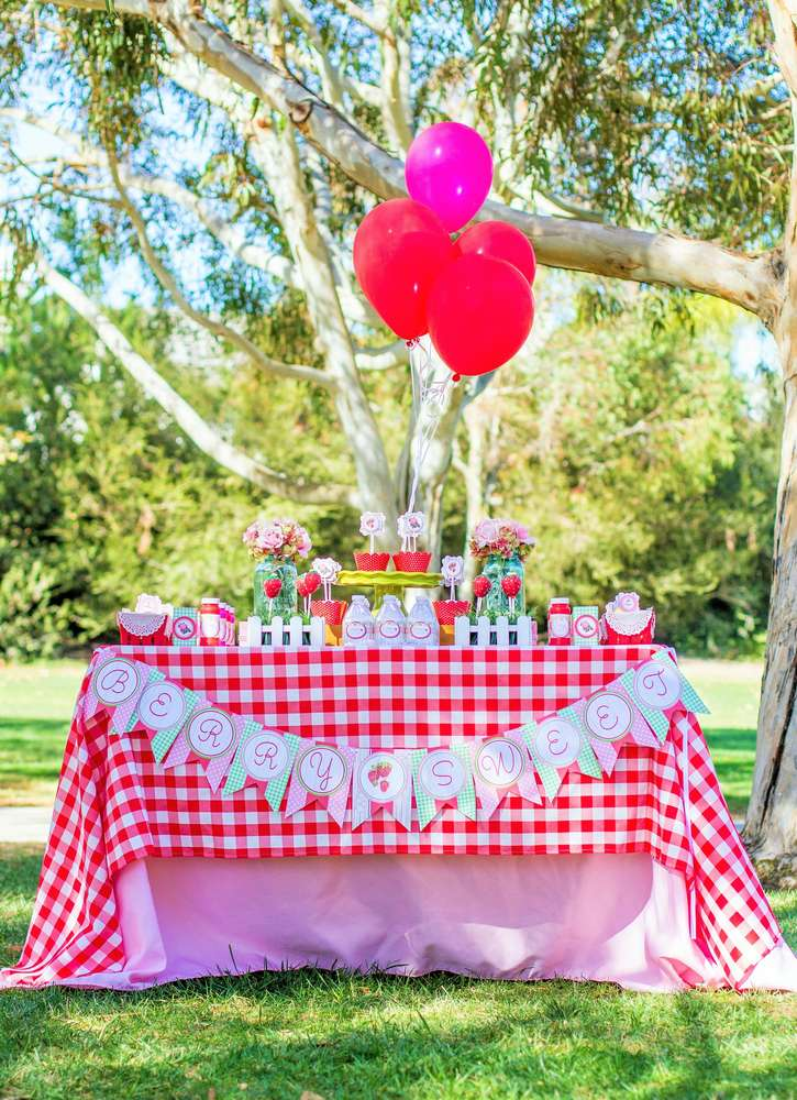 sweet berry picnic playdate