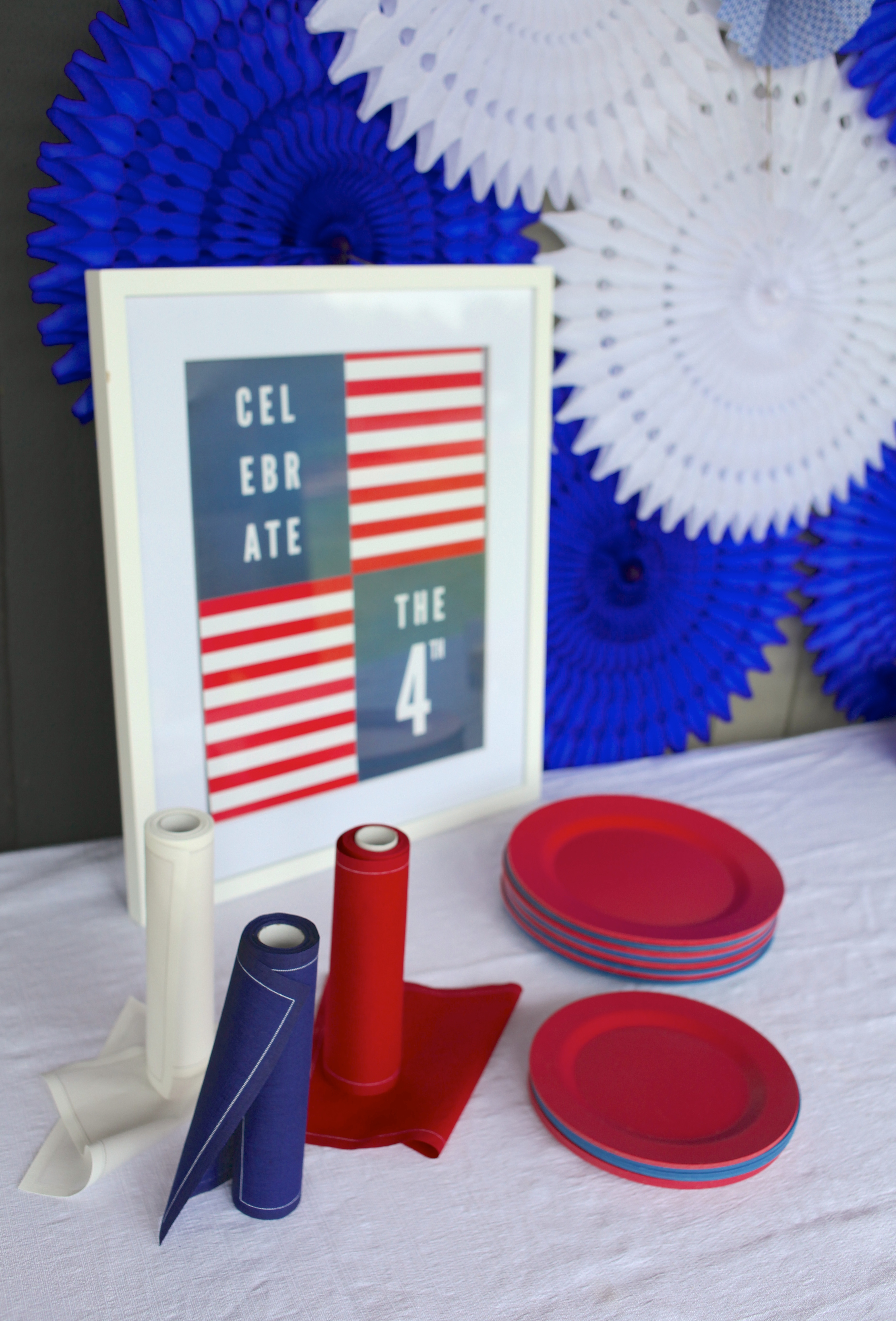 Entertaining Shoppe 4th of July Party Plates