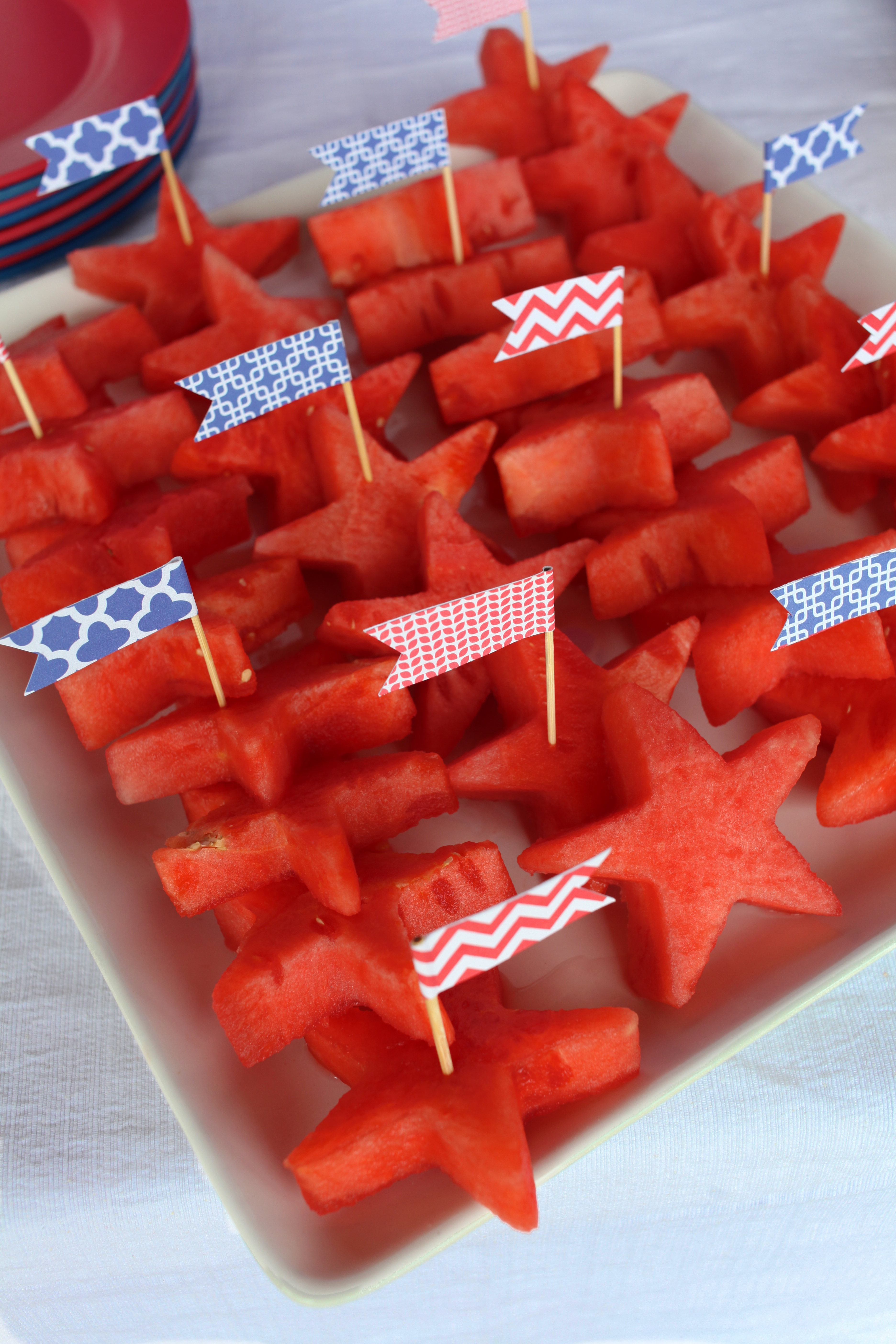 Entertaining Shoppe 4th of July Party Watermelon