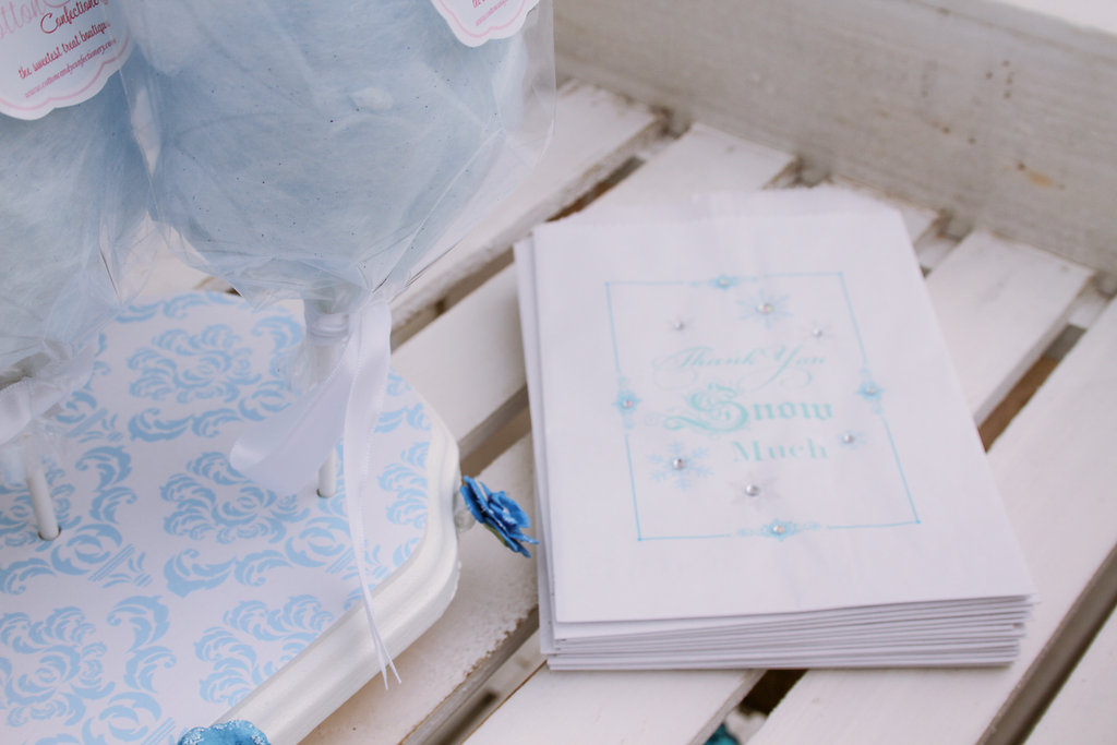 sweetly chic events & design frozen party gift bags