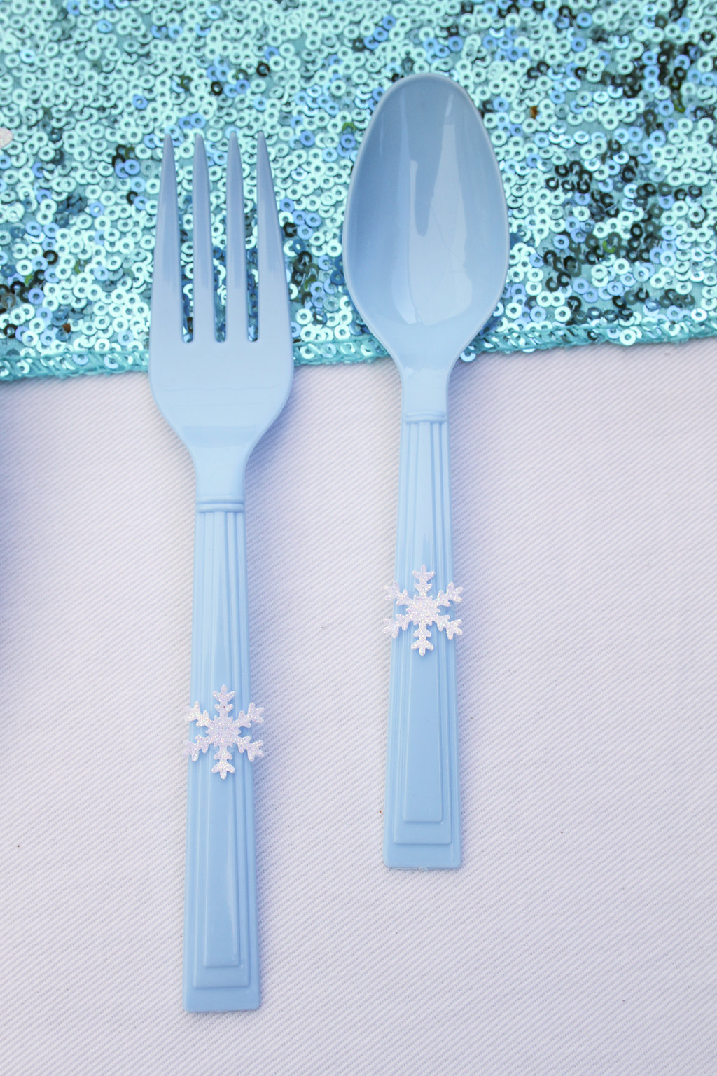 sweetly chic events & design frozen party frozen themed utensils