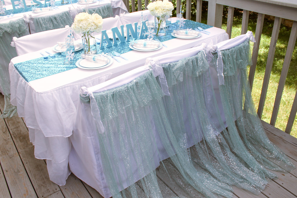 sweetly chic events & design frozen party elsa capes