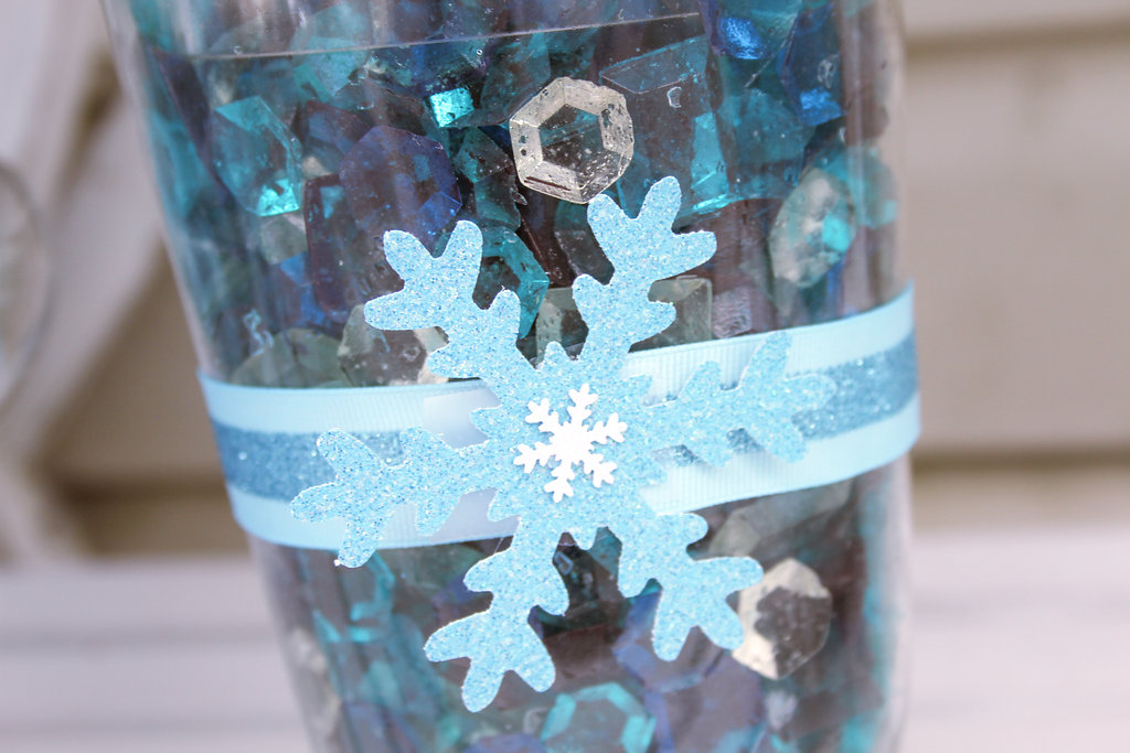 sweetly chic events & design frozen party elsa capes candy gems