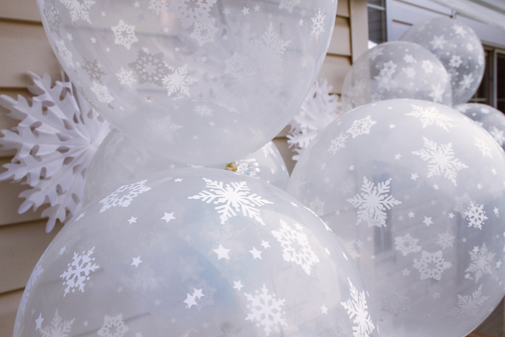 sweetly chic events & design frozen party balloons