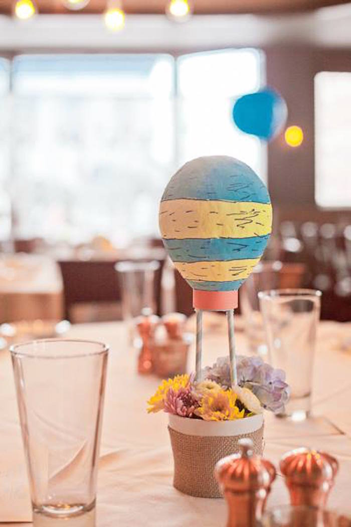 Oh the Places You'll Go Party  Centerpiece
