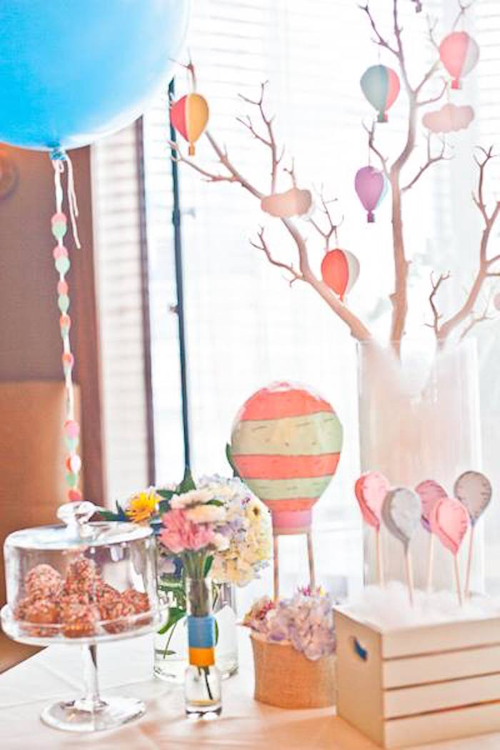 Oh the Places You'll Go Party  Table Decor