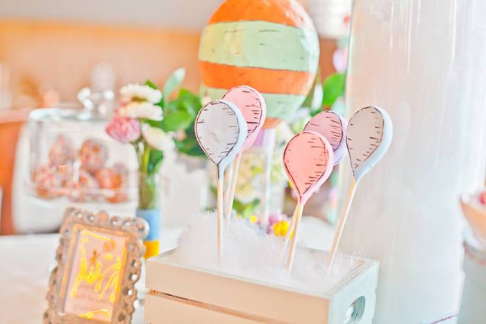Oh the Places You'll Go Party  cake Pops