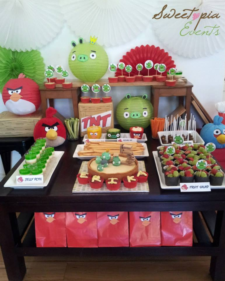 angry birds party on a budget