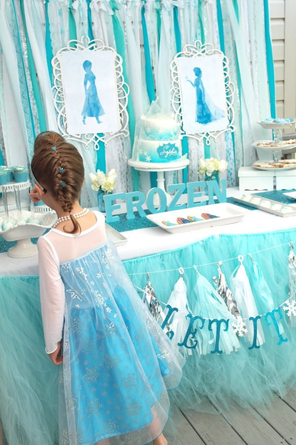 sweetly chic events and design frozen party