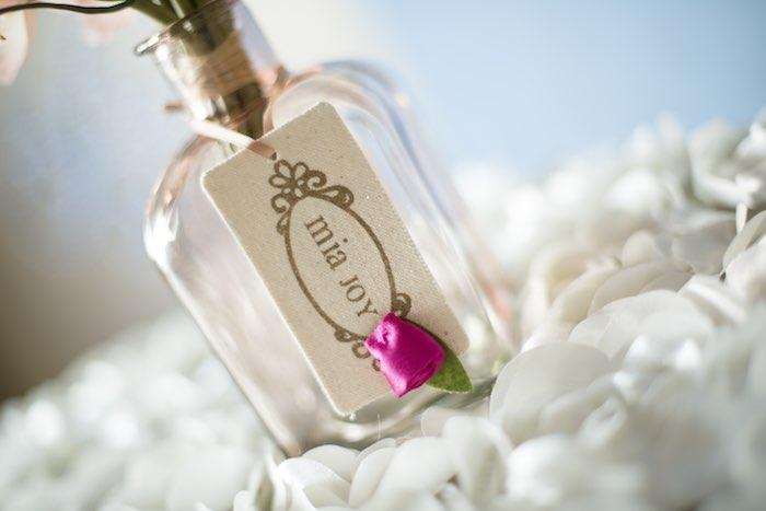 pink garden party bottle