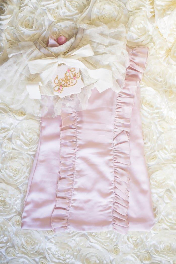 pink garden party childrens attire