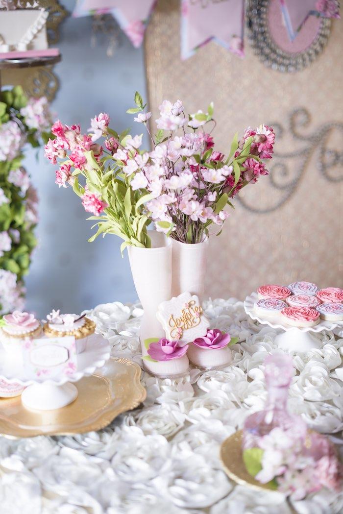 pink garden party