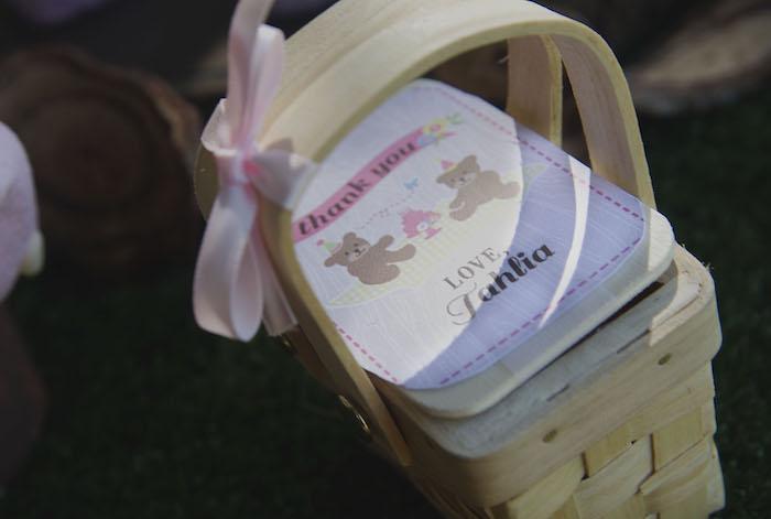 teddy bear picnic party picnic basket