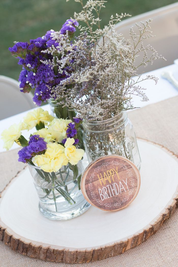 Sweetly feature st garden birthday party