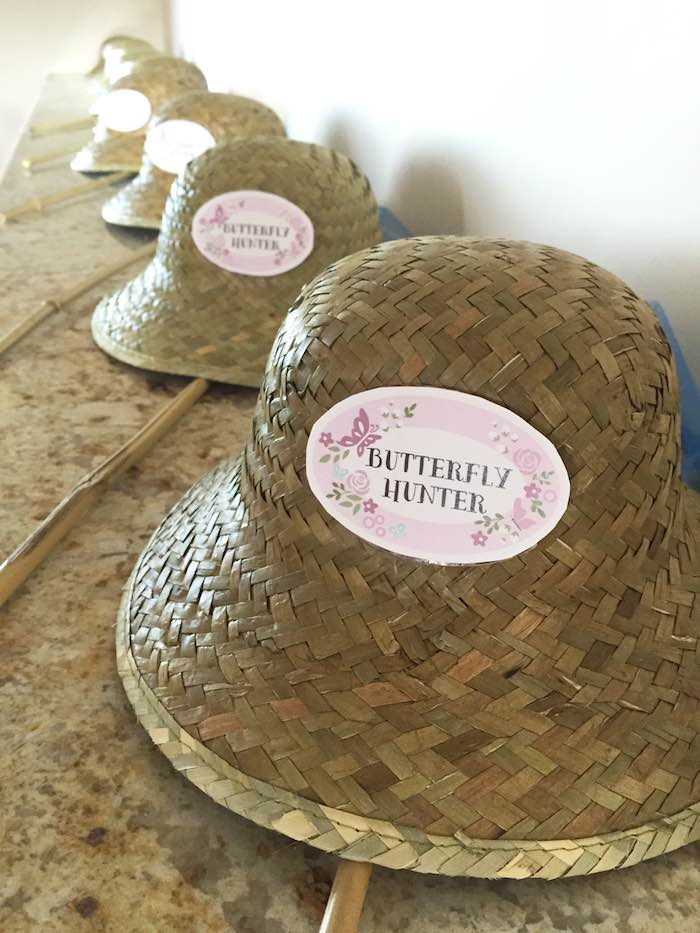 Butterfly Garden Party Hats