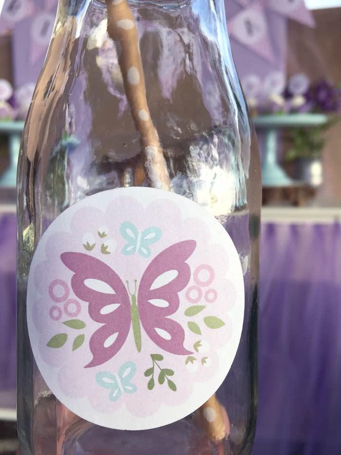 Butterfly Garden Party carafe decor