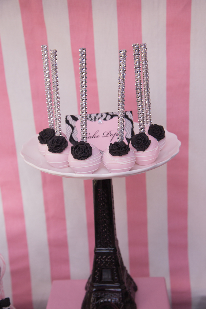 Parisian Cafe Party Cake Pops 2