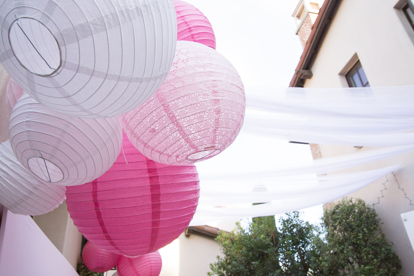 Parisian Cafe Party Paper Lanterns