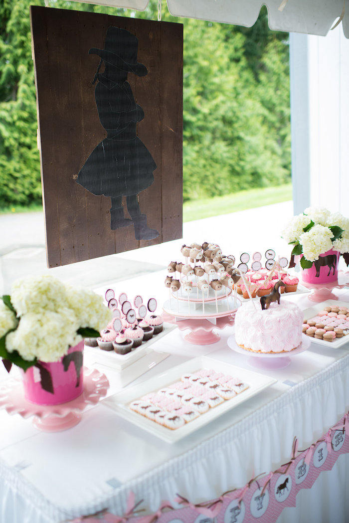 Pink & Brown Pony Party