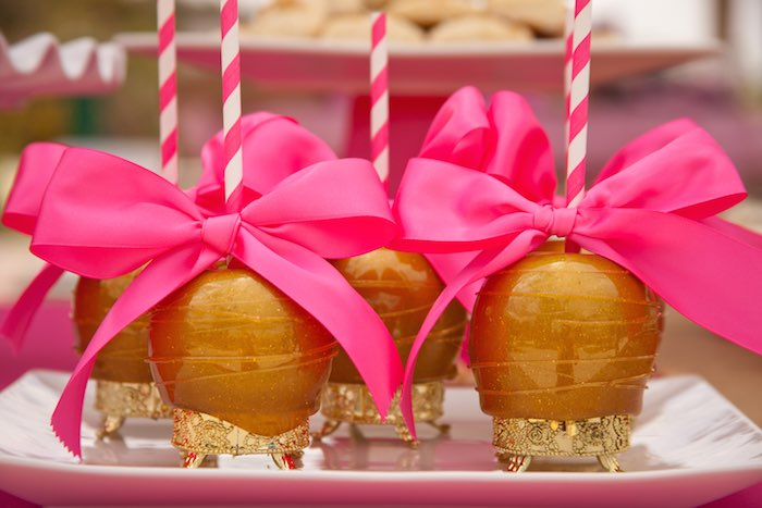 Princess Tea Party Picnic Chocolate apples