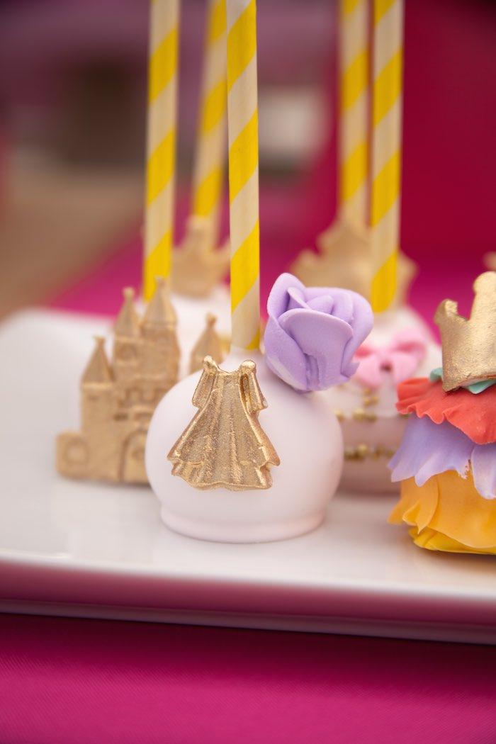 Princess Tea Party Picnic Gown Cake pop 2