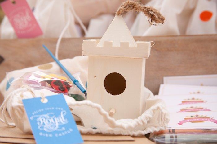 Princess Tea Party Picnic bird hosue craft